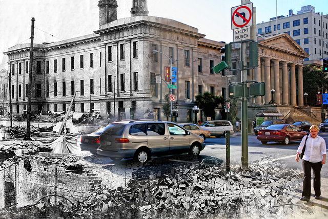 What would the 1906 San Francisco Earthquake look like today?