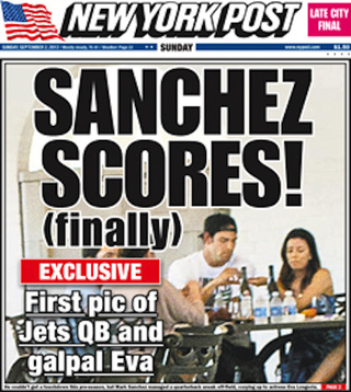 Mark Sanchez Confidence Report