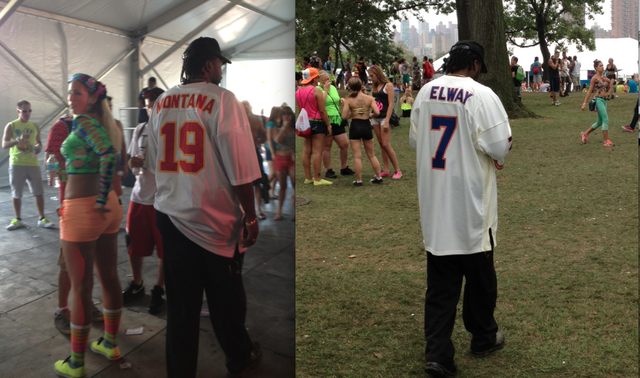 Undercover Cops Fucking Love Wearing Old NFL Jerseys