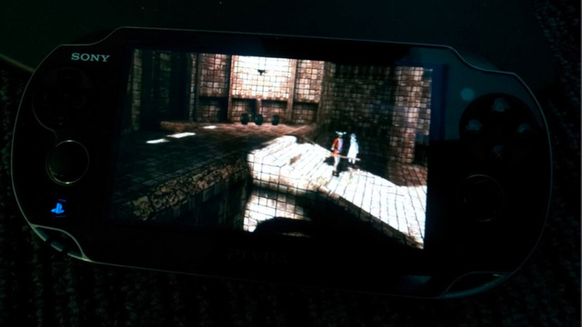 Hey, It's Ico on a Sony Dude's Vita