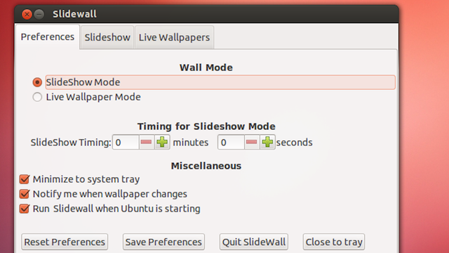 Slidewall Uses Your Photos or Images from the Web to Keep Your Linux Wallpaper Fresh