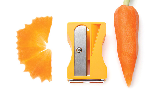 This Giant Sharpener Could Be the Safest Way To Peel Your Vegetables