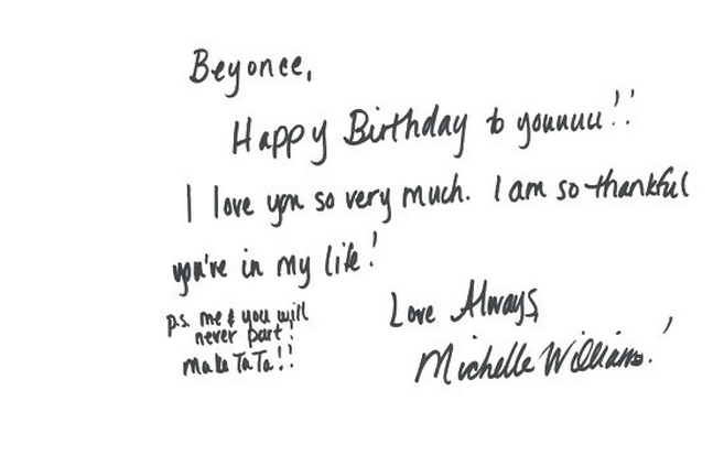 Ignovation Today is Beyonc s 31st birthdayAn Analysis of – What to Write in Friends Birthday Card