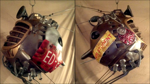 I Want This Fantastic ED-E Sculpture To Follow Me Around For Real