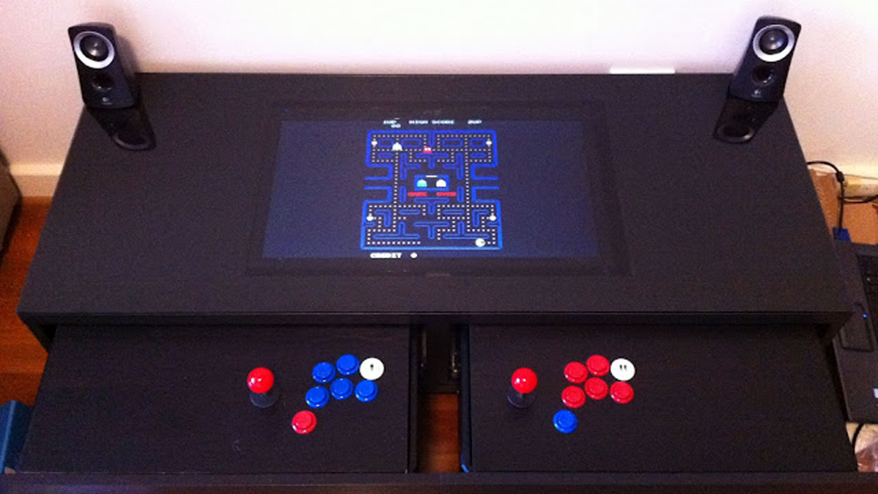 Click here to read Turn a Coffee Table into an Awesome Two-Player Arcade Cabinet