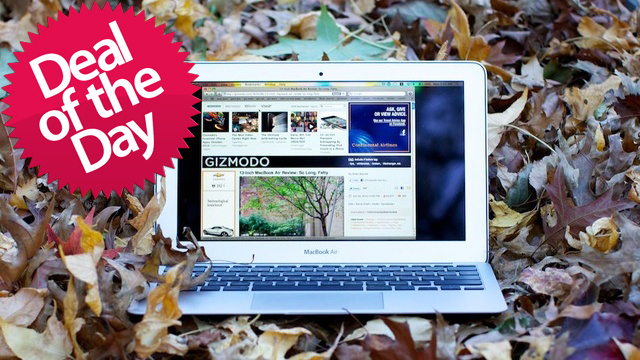 This Macbook Air Is Your Reigning-Gadget-Of-The-Year Deal of the Day