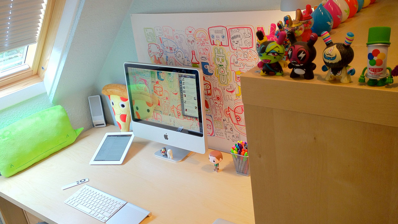 Click here to read The Illustrated Workspace