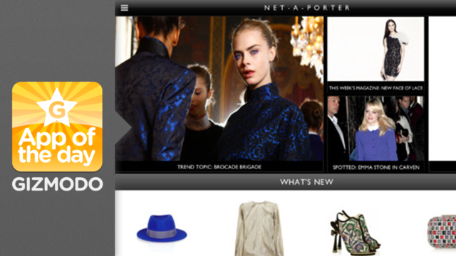 Net-A-Porter: Dress Yourself in Designer Duds With the Help of Your iPad