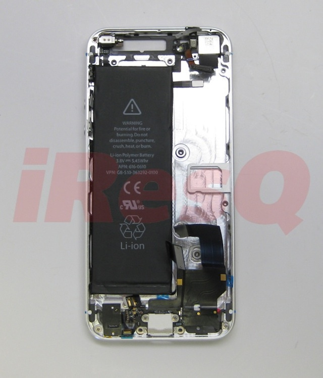 The iPhone 5's Leaked Battery Is Bigger, Taller and Fits Perfectly Inside the Leaked iPhone 5 Case