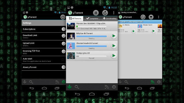 uTorrent Brings a Full BitTorrent Client to Android