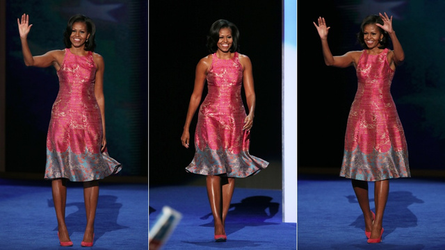 Michelle Obama Wore a Gorgeous White Dress to Last Night's ...