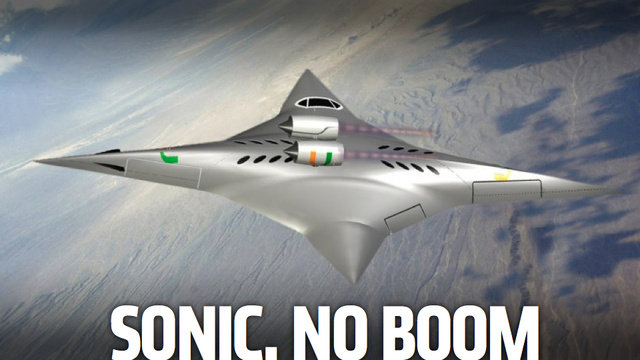 This Ninja Star-Shaped Jet Flies Sideways At Supersonic Speeds