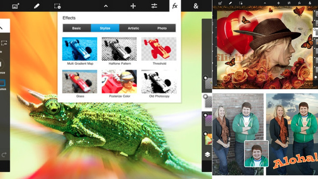 Photoshop Touch Is Now Retina-Friendly on the iPad