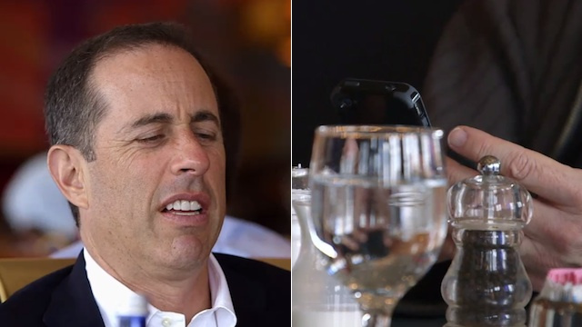 Jerry Seinfeld Says If You Have a Case on Your iPhone Then You Should Walk Around with a Helmet On