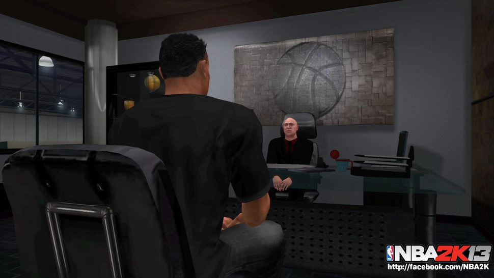 The Boss Will See You Now in <em>NBA 2K13</em>