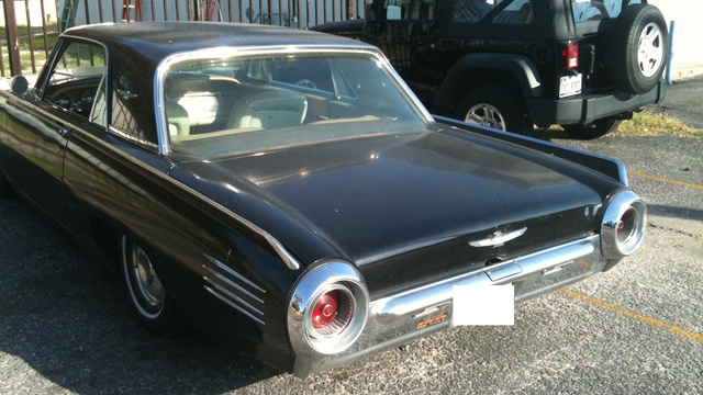 This Classic Ford Thunderbird Is A Seriously Badass American Car