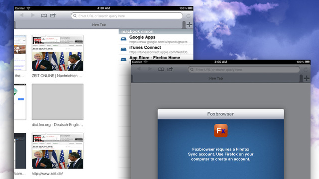 Click here to read Foxbrowser Is a Free, Open Source Web Browser for iPad that Supports Firefox Sync