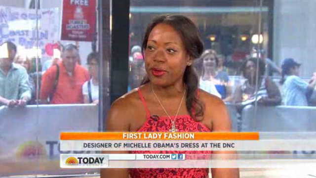 Tracy Reese Rushing to Get Michelle Obama's DNC Dress in Stores