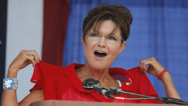 Sarah Palin Feigns Surprise at John Kerry, Says Predictably Stupid Thing