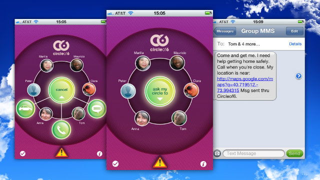 Click here to read Circle of 6 for iPhone and Android Prevents Violence, Gives You a Way Out of Dangerous Situations