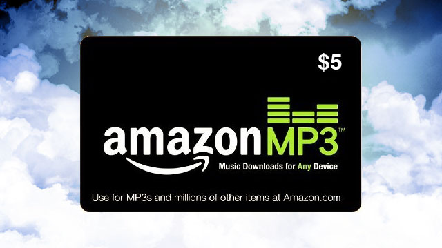 Get $5 in Amazon MP3 Credit for Free