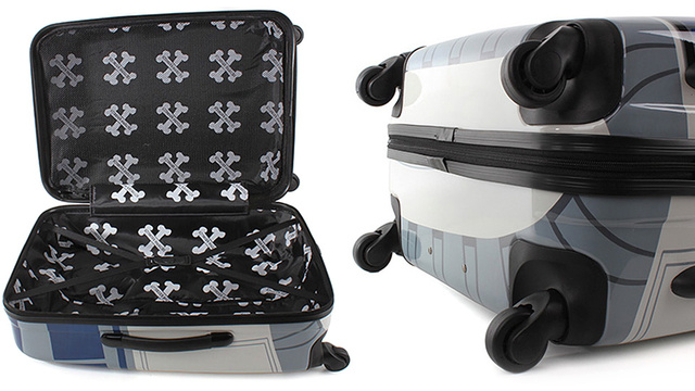 R2D2 Luggage Would Be Way Cooler If It Automatically Followed You Around