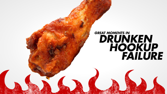 Cockblocked by Hot Wings!