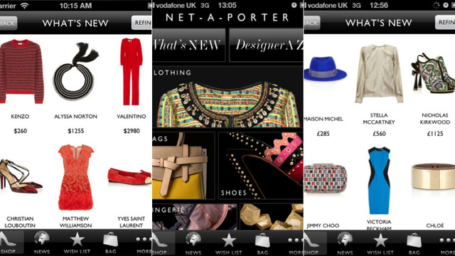 NextGuide, Net-A-Porter, and More