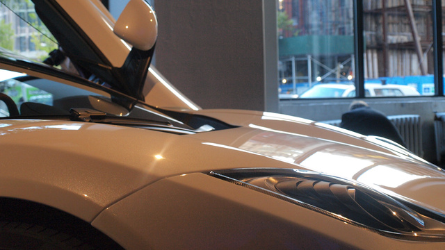 The McLaren 12C Spider Live At The Manhattan Classic Car Club Gallery