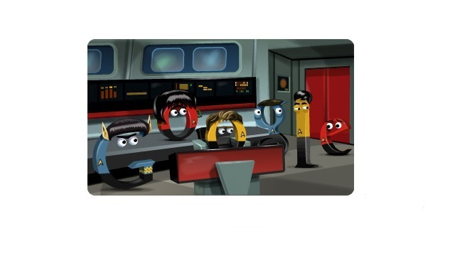Click here to read The <em>Star Trek</em> Google Doodle Might Be the Best One Yet