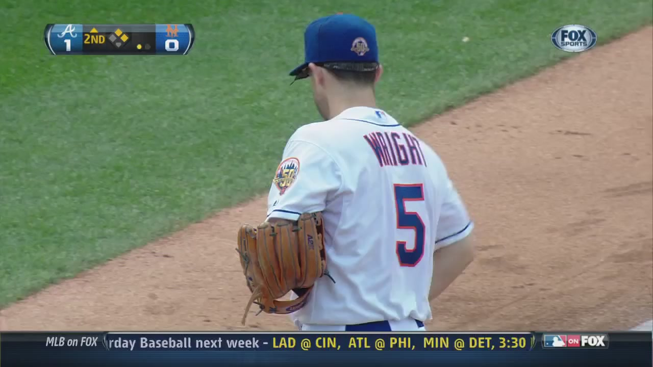 Here's David Wright Throwing A Ball Straight Into The Ground
