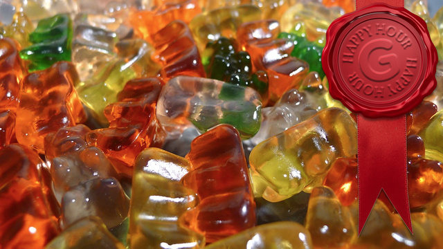 Get Really Drunk Off Gummi Bears
