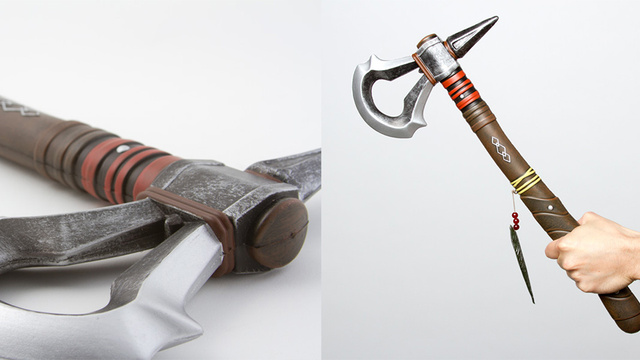 Assassins Creed 3's Foam Tomahawk Is Totally Harmless
