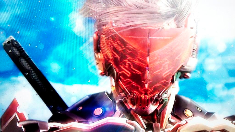 The metal gear rising demo sure looks pretty kotaku australia heres a photo of raiden from the metal gear rising demo that will appear at this years tokyo game show the image was snapped off a tv and damn voltagebd