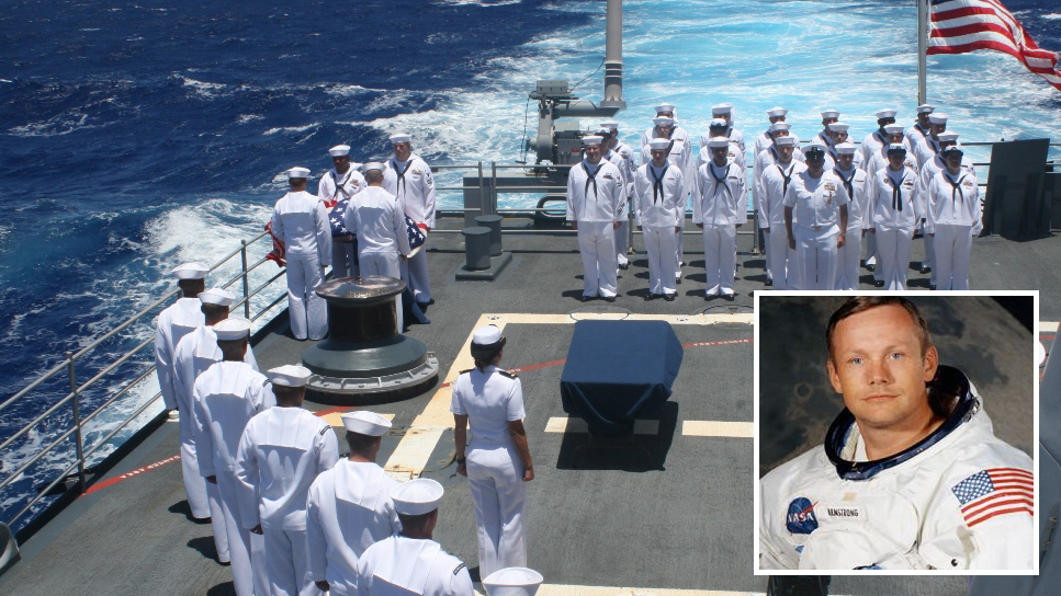neil armstrong burial - photo #3