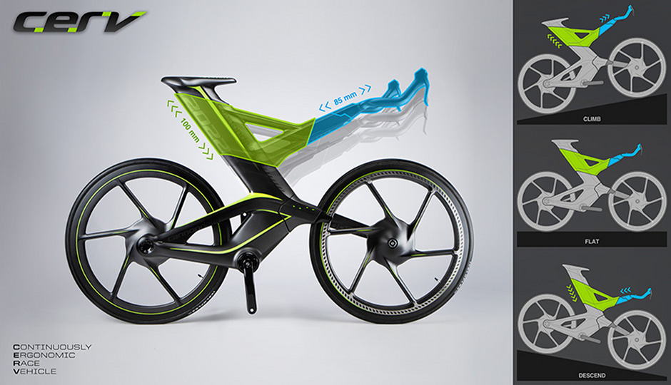 This Ridiculous Bike Mutates While You Ride It