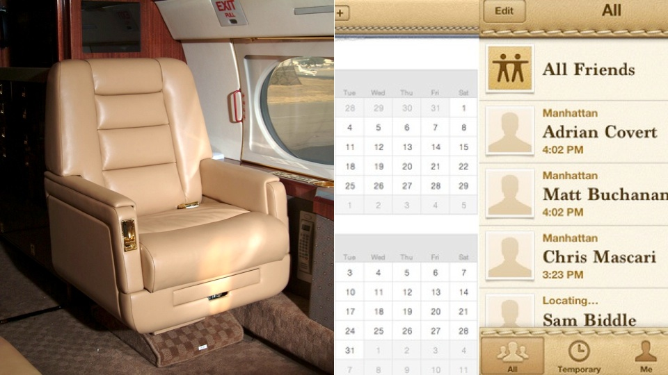 Click here to read Apple's Hideous Leather Software Is Based on Steve Jobs' Private Jet