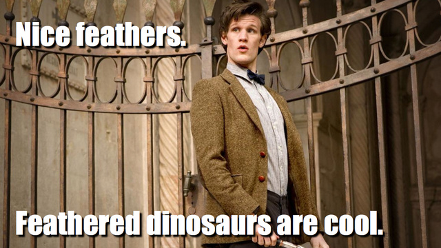 This week's Doctor Who totally wasted its chance to make feathered dinosaurs cool