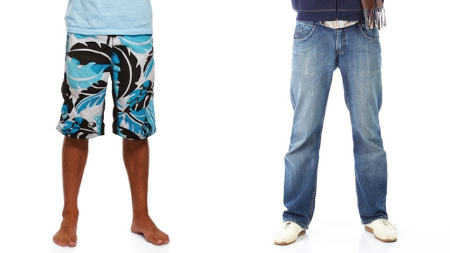 Lunchtime Poll: Summer Clothes vs. Winter Clothes. WHO YA GOT?