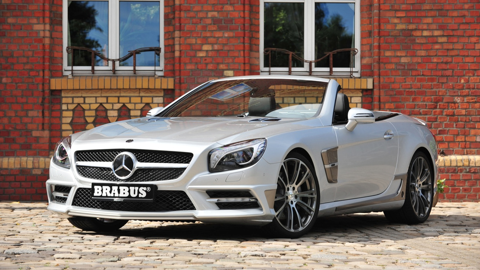 Brabus Mercedes SL: First Photos