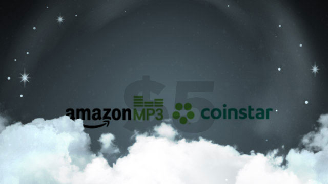 Get $5 Worth of Free Amazon MP3s When You Pour $20 Into Coinstar