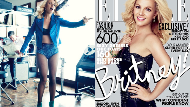 Shockingly, Britney Spears, Elle Cover Model, Is Not That Into Fashion