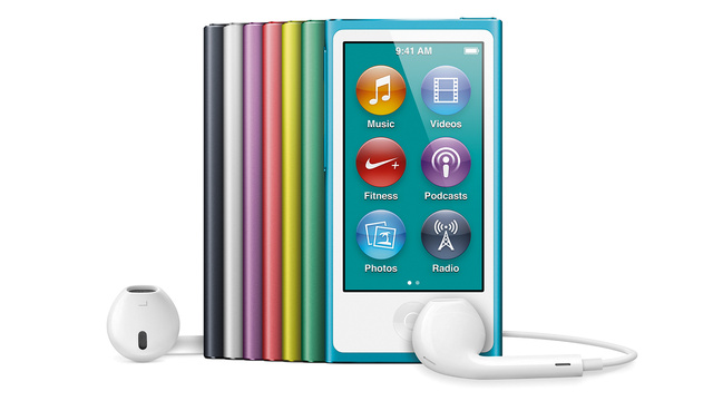 New iPod Nanos Look Like Gorgeous Tiny iPhones
