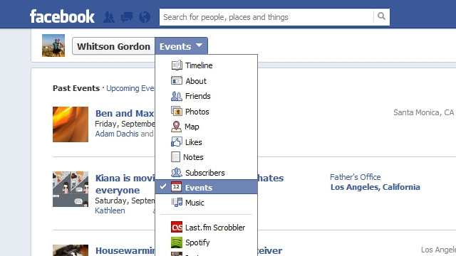iOS Cover Flow, Facebook Events, and Unread Mail