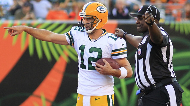 "Aaron Rodgers Says The Replacement Refs ""Have To Understand The Rules"""