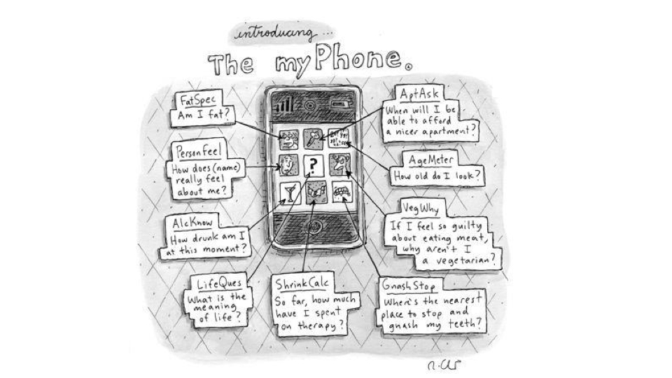 Click here to read Did a <em>New Yorker</em> Cartoonist Predict Today's Apps in 2009?