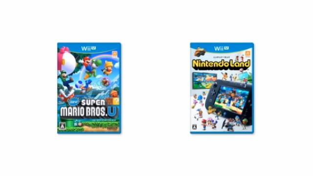Here Are the First Two Wii U Launch Titles