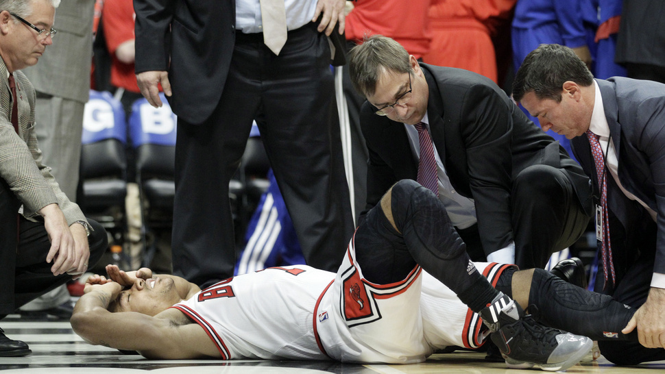 Video Of Derrick Rose's Injury Makes Derrick Rose Cry