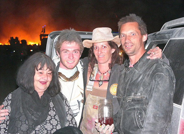 Looks Like Amanda Knox's Italian Ex Raffaele Sollecito Had a Good Time at Burning Man