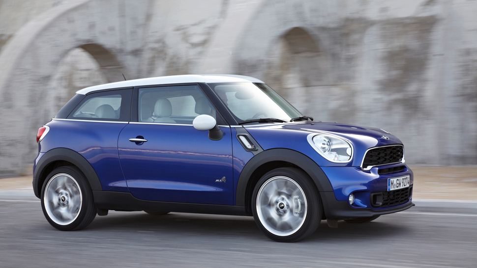 The Paceman Is Mini's Tall, Two-Door Countryman